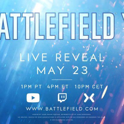 Battlefield V sera una realidad 23 de Mayo